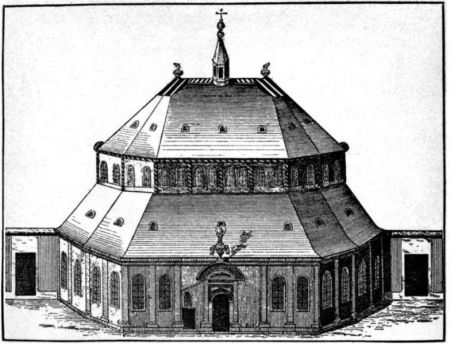 The Protestant Church in Caen, where du Bosc was minister