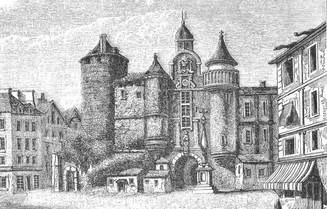 Le Grand Châtelet in 1684