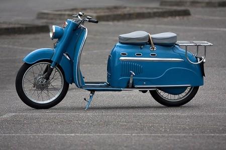 1956 Manurhin Scooter