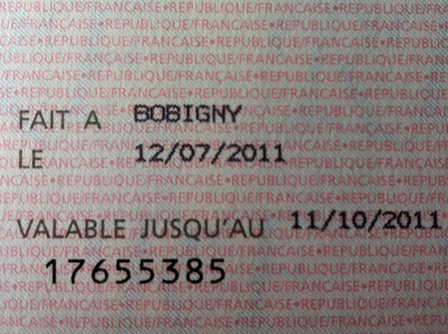 valid until 10/11/2011
