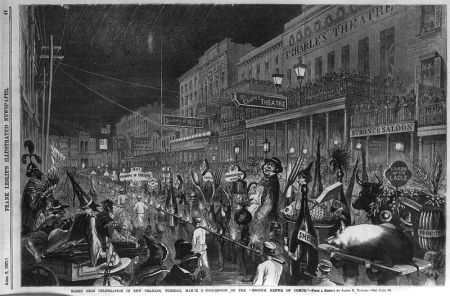The Mistik Krewe of Comus, 1867, by James E. Taylor