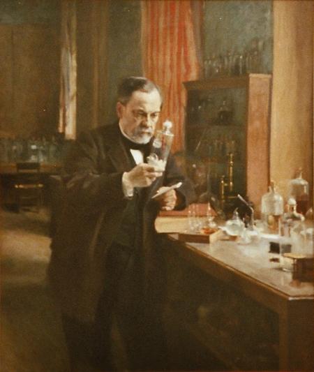 """Louis Pasteur in His Laboratory"" by Albert Edelfelt"