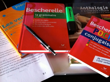 Ah, Le Bescherelle, mon meilleur ami !