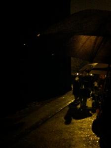"Visit #2: November 27 ... ""cold, drizzly pre-dawn hours"" at Bobigny"