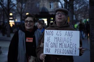 "I'm a fan of Monsieur and Madame Inconnu: ""Our 45 years of marriage aren't threatened by anyone!"""