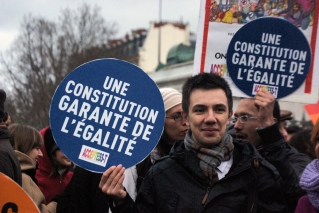 """""""A constitution guantees equality."""""""