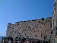 The ramparts of the old city