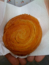 The kouign amann ... honestly the best French pastry I've EVER eaten. (There will be an article on this one day.)