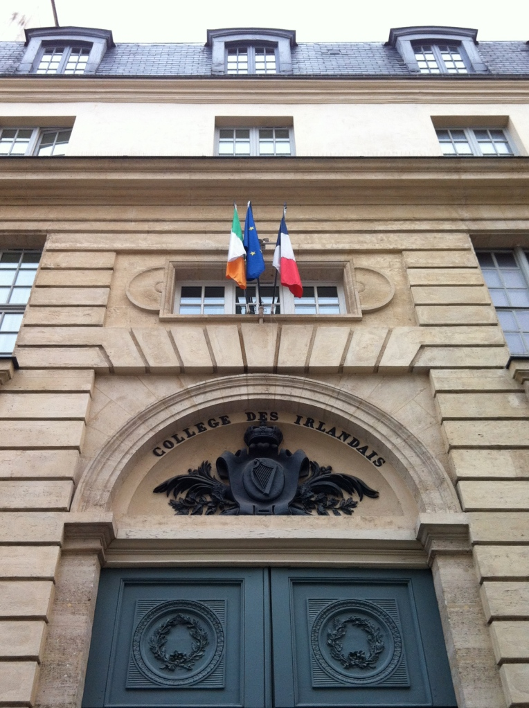 "Entrance to the Centre, ""Collège des Irlandais"""