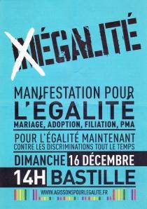 © 2012 Agissons pour l'égalité