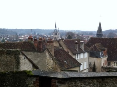 A view of the rooftops