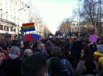 along boulevard Saint-Germain