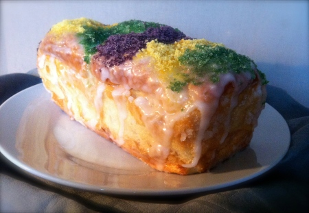Our King Cake © 2013 Samuel Michael Bell, all rights reserved