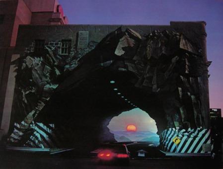 "Blue Sky, ""Tunnel Vision"" (1975), used under fair use doctrine"