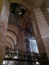 The bell tower above the high altar, La Basilique St-Sernin