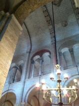 The gallery above the nave, La Basilique St-Sernin