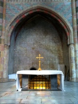 An altar in Les Jacobins