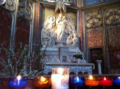 The Chapel of the Virgin Mary, La Cathédrale St-Étienne
