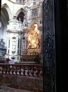 The high altar, la Cathédrale St-Étienne