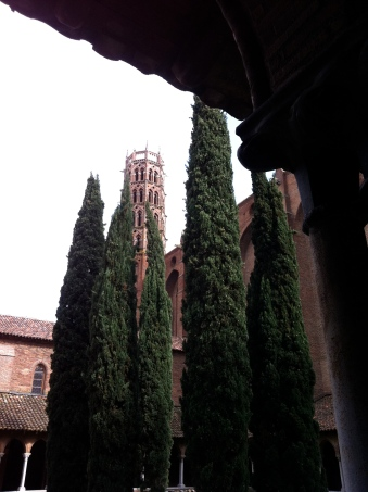 Tower viewed from the Cloister, Les Jacobins