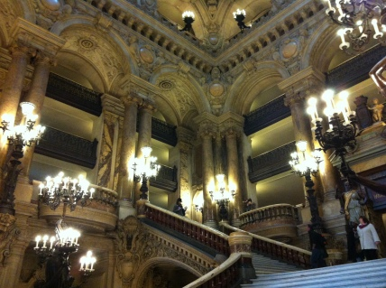 A view of the Grand Staircase