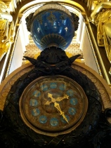"A ""calendar clock"" in the Grand Foyer ... yep, March 14"