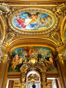 Ceiling of the Grand Foyer