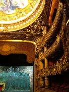 "A view of the ""baignoires"" on the upper levels of the Auditorium"