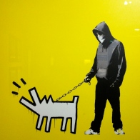Banksy. Choose your weapon. Serigraph. 2010. Collection of Butterfly.