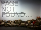 Rero. Untitled (PAGE NOT FOUND...). Installation. 2011. Collection of Art Visory, courtesy of Backslash Gallery.
