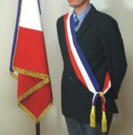 Une écharpe tricolore