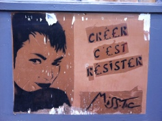 "Miss.Tic, ""To create is to resist."""