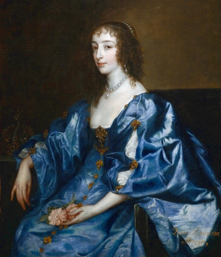 Henrietta Maria of France, Queen Consort of England (1625-1649) and mother of King Charles II