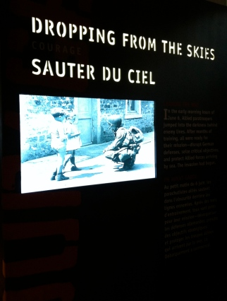 one of many photographic displays touching on aspects of the operation