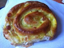 One of my favorite French pastries: the pain au raisin