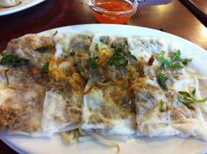 steamed vegetarian Vietnamese dumplings from one of my favorite restaurants in Paris: 100% vegetarian Tien Hiang