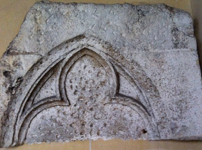 Stones from the home of Fr. Daniel in Orléans, the home of John Calvin in 1529